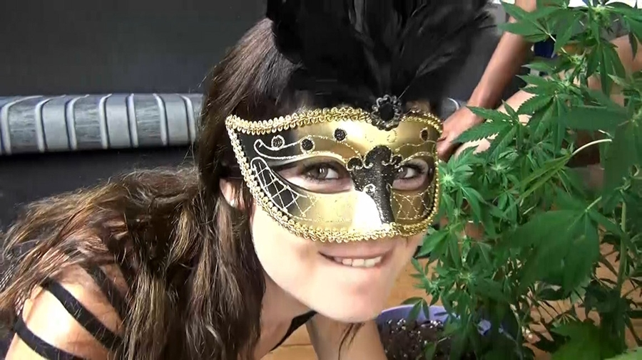 [ManyVids.com / CumBizz.com] Tiny Dutch - Rumble in the weed jungle [2017 г., Gangbang, Bukkake, Facials, Oral, 1080p]