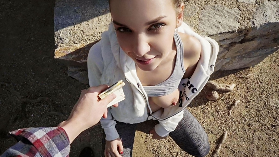 [PublicPickUps.com / Mofos.com] Henessy - Fitness Babe Loves Public Sex (27.01.2018) [Outdoors, All Sex, Doggystyle (Standing), Blowjob (POV), Doggystyle (POV), Missionary, 480p]