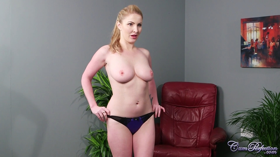 [CumPerfection.com] Georgie Lyall (Whats Your Secret) [2018 г., Blowjob, Big Tits, Facial, 1080p]