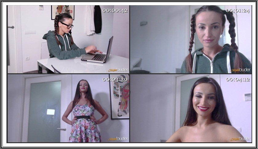 [Sweet18.com / CumLouder.com] Alyssia Kent - The First Orgasm of a Nerdy girl (29.01.2018) [Natural Tits, Orgasm, Blowjob, All Sex, 1080p]