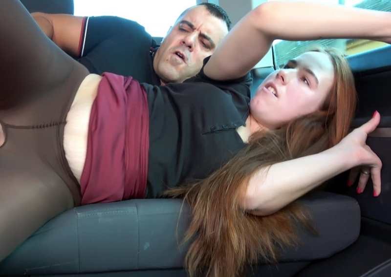 [TakeVan.com] Jessie - Yo Momma Joke But Real (04.12.2017) [2017 г., Full Clothed, Public, Car-Sex, Red Hair, Natural Boobs, Stockings, Shaved Pussy, Hardcore, Cum on BUtt, 1080p]