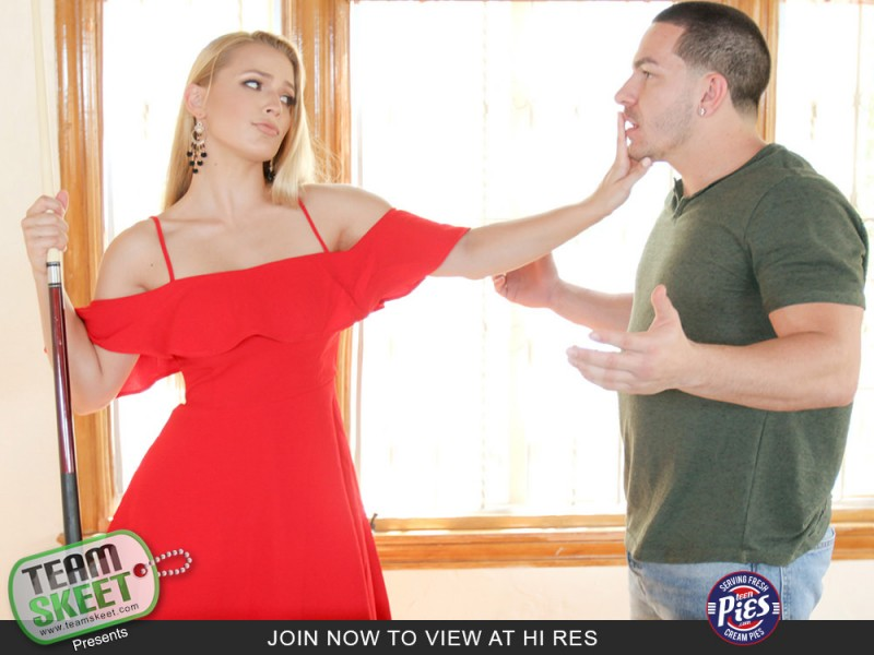 [TeenPies.com / TeamSkeet.com] Sloan Harper (Baby Talking Over Billiards / 04.12.2017) [2017 г., Blonde, Blowjob, Cowgirl, Deepthroat, Doggystyle, Handjob, Natural Tits, POV, Pussy Lick, Shaved Pussy, All Sex, Creampie, 1080p]