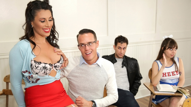 Makayla Cox - Leave It To Teacher (09.12.2017) [Big Tits, Big Tits Worship, Black Hair, Blowjob (POV), MILF, School, School Fantasies, Teacher]