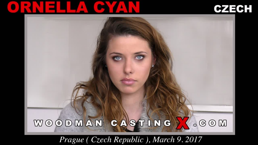 [WoodmanCastingX.com] Ornella Cyan (* Updated * / 04.12.2017) [Threesome, MMF, Swallow, Casting, All Sex] 540p