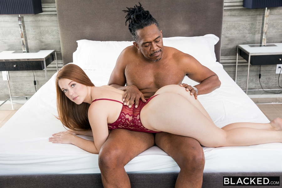[Blacked.com] Kimberly Brix (My First BBC Daddy / 16.12.2017) [2017 г., Redhead, Doggystyle, Facial, Deep Throat, Lingerie, Big Ass, All Sex, IR, 480p] 2047kbps