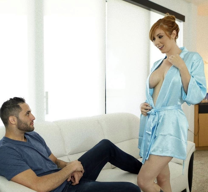 [NFBusty.com] Lauren Phillips (All Natural Redhead / 15.12.2017) [2017 г., Big Tits, Blowjob, Hardcore, Doggystyle, Cum on Tits, Outie Pussy, MILF, 1080p]