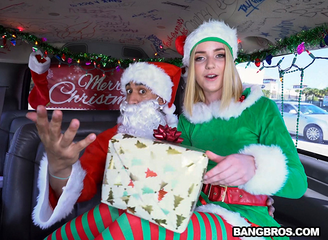 Maddie Winters - Xmas Special With A Sexy Elf (bb16268 / 20.12.2017) [Amateur, Blonde, Blowjob, Cowgirl, Cum In Mouth, Cumshot, Doggystyle, Hardcore, Missionary, Riding, Shaved, Vaginal, White, Young]