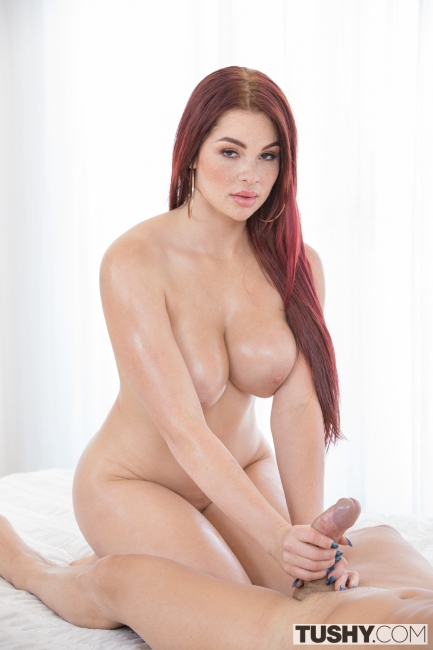 Skyla Novea - International Relations Part 1 (10.06.2017) [Anal, Big ass, Big tits, Redhead, Doggystyle, Riding, Facial, Reverse cowgirl, Gape]