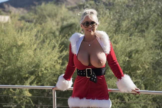 Sandra Otterson (22.12.2017 / The Christmas Present!) [All Sex, Cum In Mouth, Cum On Clothed, Dildo]