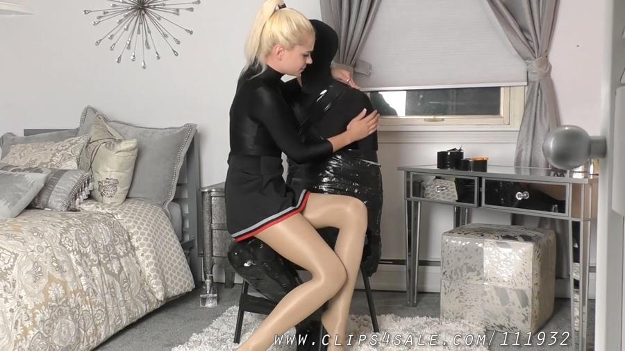[TeaseAndThankYou.com] Mistress Helix (That Funny Feeling / 25.01.2018) [2018 г., Femdom, Tease & Denial, Bondage, Handjob, Edging, Pantyhose, 1080p]