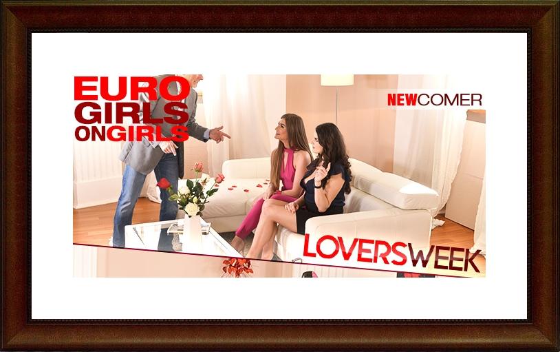 [EuroGirlsOnGirls.com / DDFNetwork.com] Sarah Sultry, Francesca DiCaprio - Lesbian s Dildo Love (21764 / 13.02.18) [2018 г., High Heels, Lesbian, Lingerie, Russian, Tattoo, Ukrainian, Vibrator, 1080p]