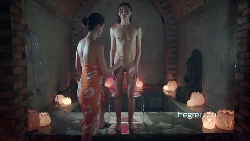 [Hegre.com] Charlotta & Grace (Tantric Sexual Healing Massage / 13.02.2018) [Lesbo, Massage, Masturbation, 1080p]