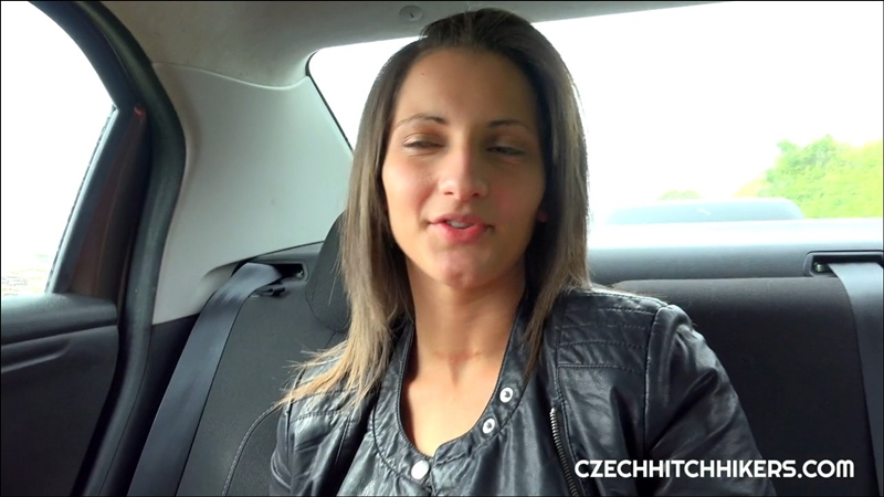 [CzechHitchHikers.com] Nicolette Noir (Czech bitch picked up at the bus station / 12.02.2018) [Blowjob, Cowgirl, Doggy style, Missionary, Hardcore, 720p]
