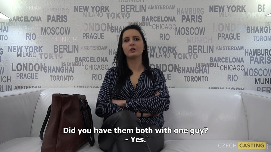 [CzechCasting.com / CzechAV.com] Veronika (24) (CZECH CASTING - 6689) (03/19/2018) [2018 г., Casting, Amateur, Czech, All Sex, 1080p]