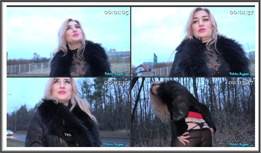 [PublicAgent.com / FakeHub.com] Dayana Ice - Blonde with butterfly arse tattoo (20.03.2018) [POV, Outdoors, Indoors, All Sex, Doggystyle - Standing, Doggystyle - POV, Missionary - POV, Blowjob, Blowjob - POV, Facial - POV] 480p