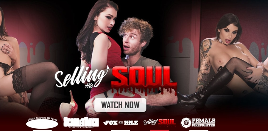 [DigitalPlayground.com] Ivy Lebelle & Luna Lovely - Selling His Soul, Episode 3 (24.02.2018) [2018 г., Lesbian, Pussy Licking, Fingering, Stockings] 480p