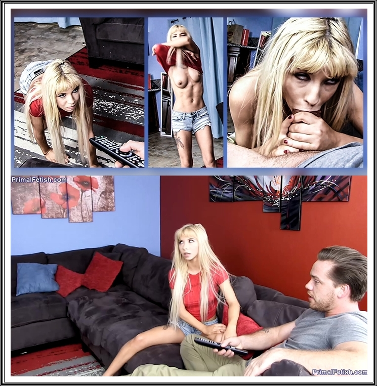 [Primal s Taboo Sex / PrimalFetish.com / TaboobyPrimal.com / Clips4sale.com] Kenzie Reeves - Remote Control [2018 г., All Natural, Teen, Blowjob, Deep Throat, Cumshot, All Sex, Big Tits, Masturbation, POV, Sister, Creampie, 720p]