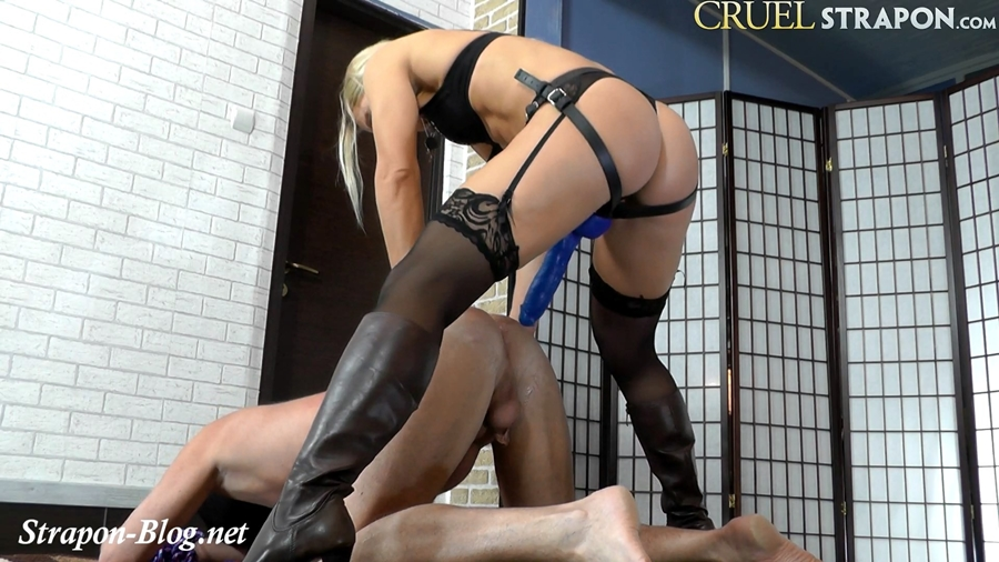 [Cruel-Strapon.com / Cruelmistresses.com] Lady Zita - Forced To Enjoy Fucking [2018 г., Femdom, Strapon, 1080p]