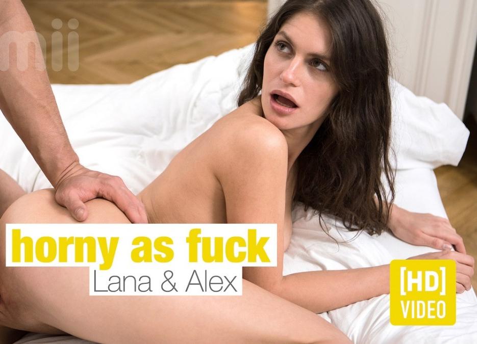 [JoyMii.com] Lana Seymour - Horny As Fuck (18.05.2018) [Creampie, All Sex] 540p