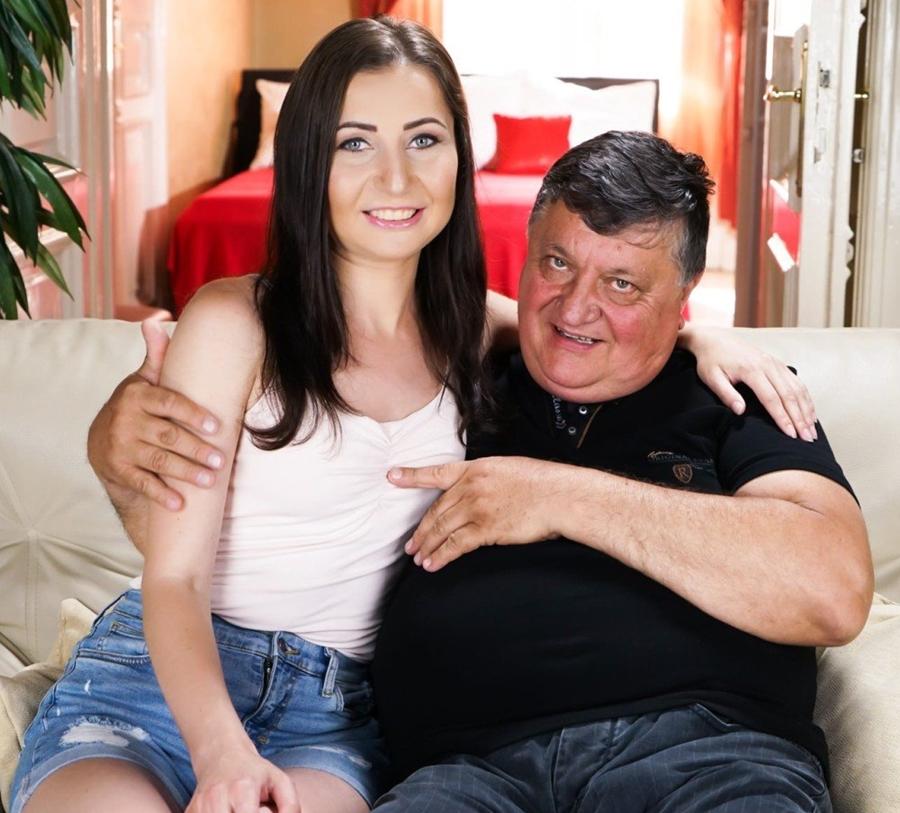 [GrandpasFuckTeens.com / 21Sextury.com] Linda Love (Taste Of Love) [12.06.2018 г., Russian, Brunette, Natural Tits, Tatooed, Oral, Hardcore, Facial, 1080p]