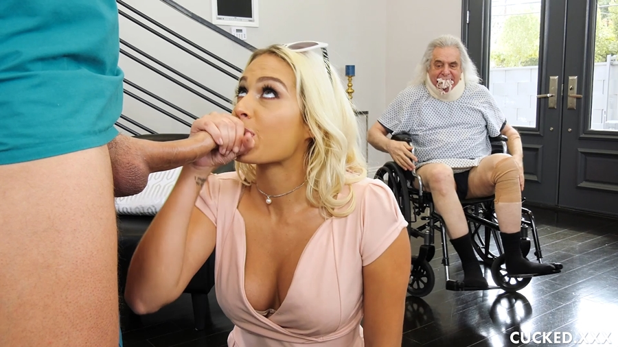 [Cucked.xxx] Athena Palomino - Athena Gets Some Cock Therapy (13.06.2018) [All Sex, Blowjobs, 1080p]