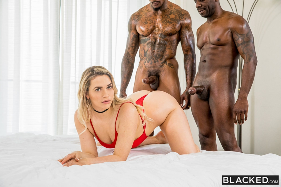 [Blacked.com] Mia Malkova - BBC For A Favour (24.06.2018) [Threesome, MMF, Creampie, Missionary, Straight, Doggystyle, Facial, Riding, First Interracial, Blonde, Prone Bone, Pussy Licking, Hairy Bush, Interracial, 720p]
