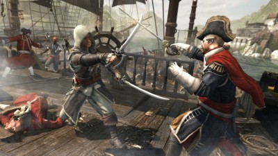 Assassin's Creed IV: Black Flag [Freeboot / RUSSOUND][+11 DLC] (2013) XBOX360