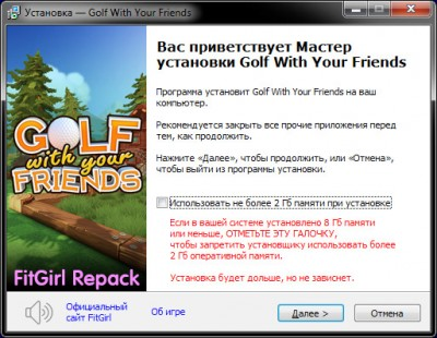 Golf With Your Friends [v 751 + DLCs] (2020) PC | RePack от FitGirl